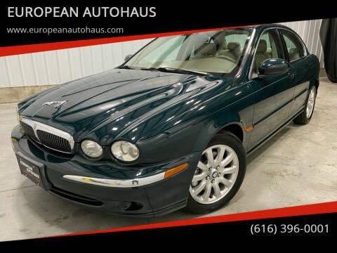 2003 Jaguar X-Type for sale at EUROPEAN AUTOHAUS in Holland MI