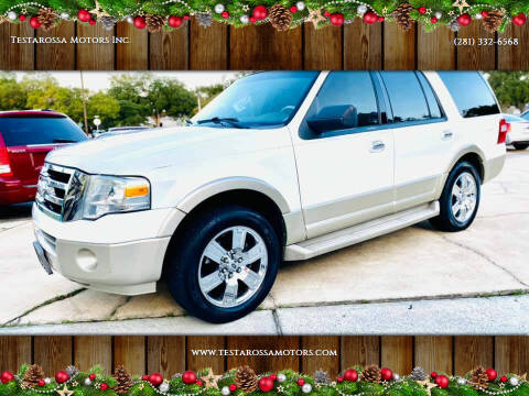2009 Ford Expedition for sale at Testarossa Motors Inc. in League City TX