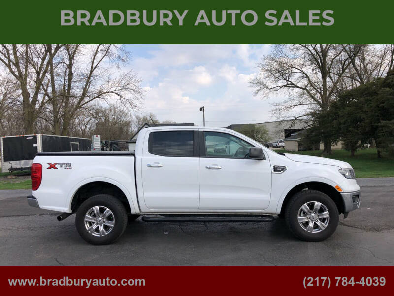 2019 Ford Ranger for sale at BRADBURY AUTO SALES in Gibson City IL