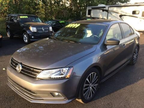 2016 Volkswagen Jetta for sale at Delta Car Connection LLC in Anchorage AK