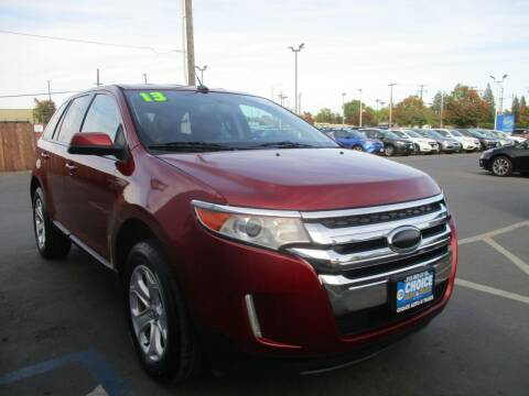 2013 Ford Edge for sale at Choice Auto & Truck in Sacramento CA