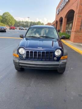 2007 Jeep Liberty for sale at Dalia Motors LLC in Winder GA