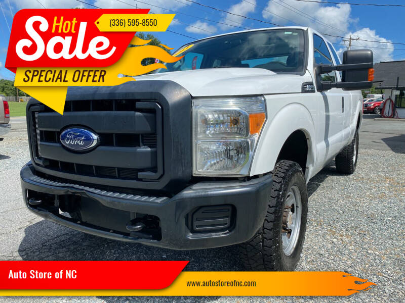 2013 Ford F-250 Super Duty for sale at Auto Store of NC in Walkertown NC