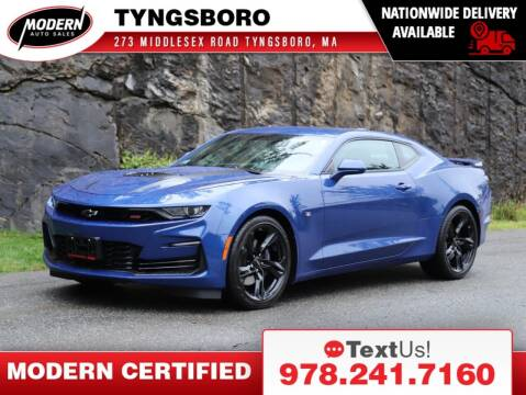2021 Chevrolet Camaro for sale at Modern Auto Sales in Tyngsboro MA