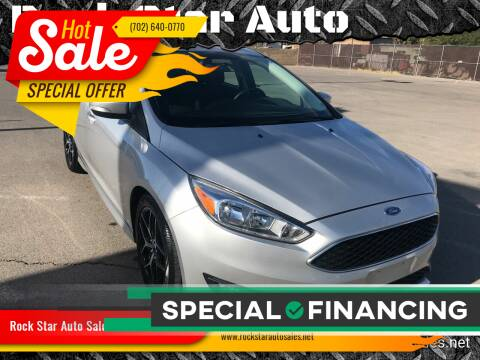 2016 Ford Focus for sale at Rock Star Auto Sales in Las Vegas NV