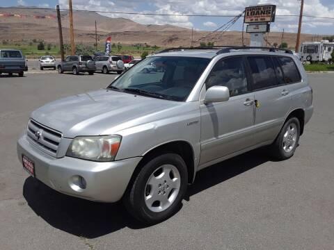 2005 Toyota Highlander for sale at Super Sport Motors LLC in Carson City NV