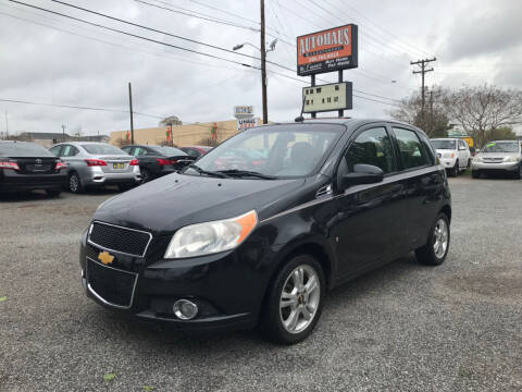 2009 Chevrolet Aveo for sale at Autohaus of Greensboro in Greensboro NC