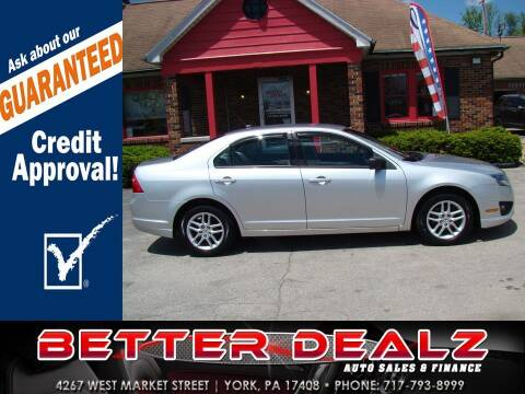 2011 Ford Fusion for sale at Better Dealz Auto Sales & Finance in York PA