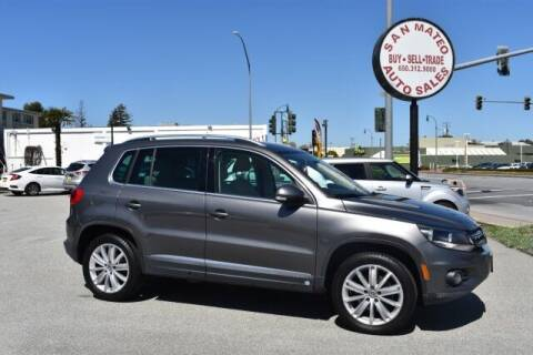 2012 Volkswagen Tiguan for sale at San Mateo Auto Sales in San Mateo CA
