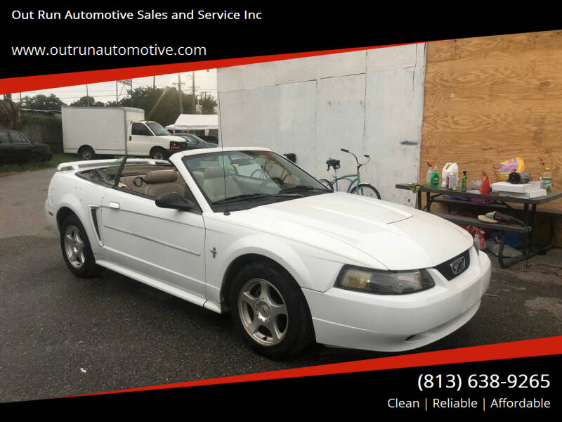2003 Ford Mustang for sale at Out Run Automotive Sales and Service Inc in Tampa FL