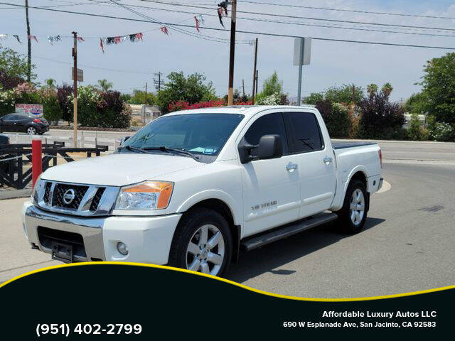 2012 Nissan Titan for sale at Affordable Luxury Autos LLC in San Jacinto CA