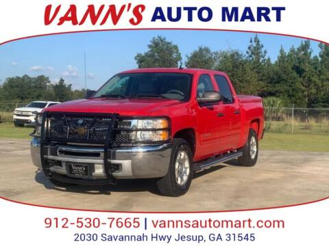 2013 Chevrolet Silverado 1500 for sale at VANN'S AUTO MART in Jesup GA