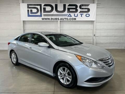 2014 Hyundai Sonata for sale at DUBS AUTO LLC in Clearfield UT