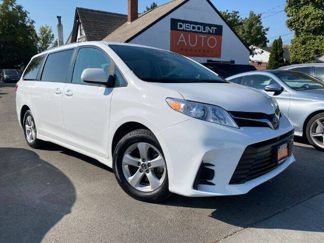 2020 Toyota Sienna for sale at Discount Auto Brokers Inc. in Lehi UT