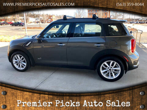 2012 MINI Cooper Countryman for sale at Premier Picks Auto Sales in Bettendorf IA