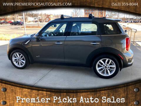 2012 MINI Cooper Countryman for sale at Premier Picks Auto Sales in Bettendorf IA