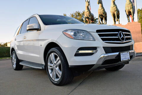 2012 Mercedes-Benz M-Class for sale at European Motor Cars LTD in Fort Worth TX
