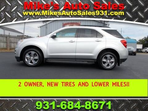 2013 Chevrolet Equinox for sale at Mike's Auto Sales in Shelbyville TN