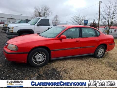 2000 Chevrolet Impala for sale at Suburban Chevrolet in Claremore OK