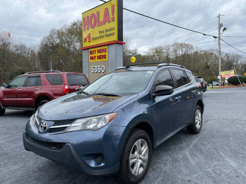 2014 Toyota RAV4 for sale at No Full Coverage Auto Sales in Austell GA