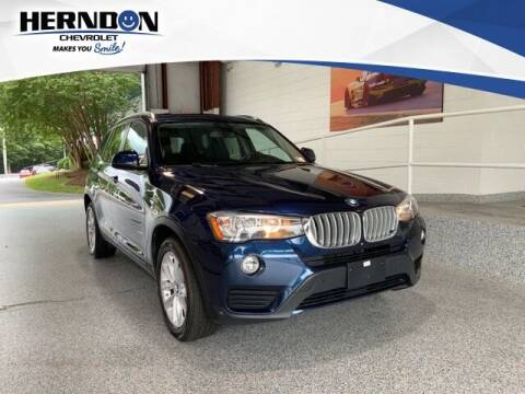 2017 BMW X3 for sale at Herndon Chevrolet in Lexington SC
