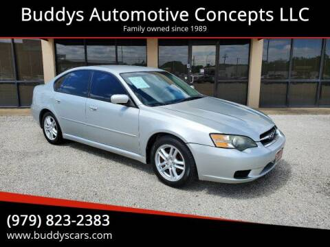 2005 Subaru Legacy for sale at Buddys Automotive Concepts LLC in Bryan TX