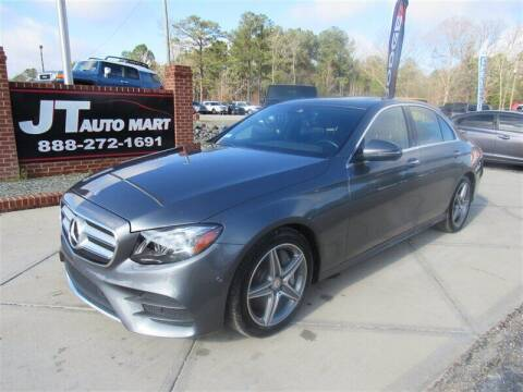2017 Mercedes-Benz E-Class for sale at J T Auto Group in Sanford NC