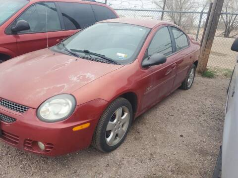 2003 Dodge Neon for sale at PYRAMID MOTORS - Fountain Lot in Fountain CO