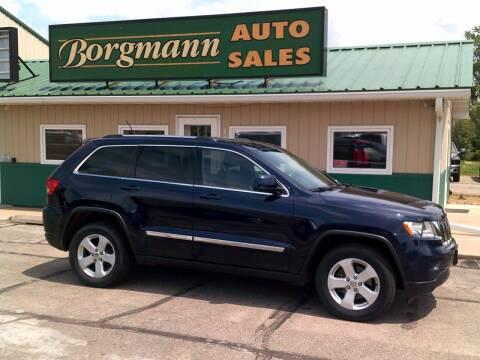 2013 Jeep Grand Cherokee for sale at Borgmann Auto Sales in Norfolk NE