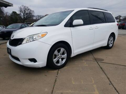 2011 Toyota Sienna for sale at Nile Auto in Fort Worth TX