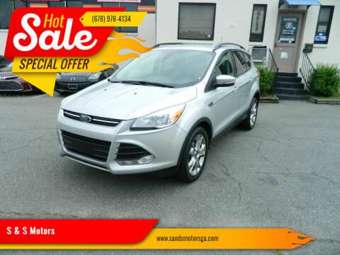 2013 Ford Escape for sale at S & S Motors in Marietta GA