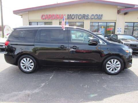2016 Kia Sedona for sale at Cardinal Motors in Fairfield OH