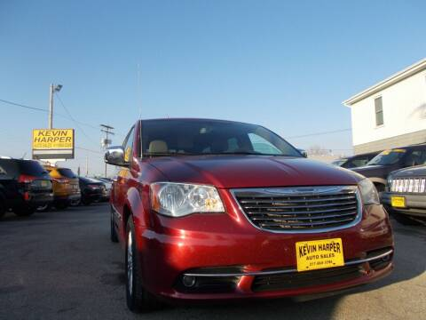 2012 Chrysler Town and Country for sale at Kevin Harper Auto Sales in Mount Zion IL