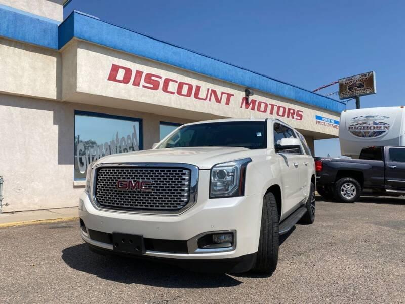 2015 GMC Yukon XL for sale at Discount Motors in Pueblo CO