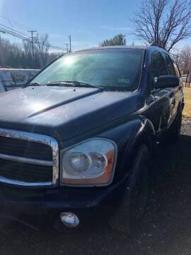 2005 Dodge Durango for sale at PREOWNED CAR STORE in Bunker Hill WV
