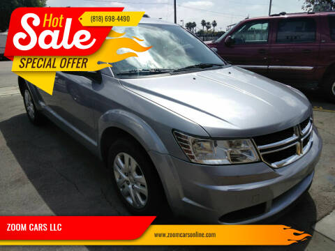 2017 Dodge Journey for sale at ZOOM CARS LLC in Sylmar CA
