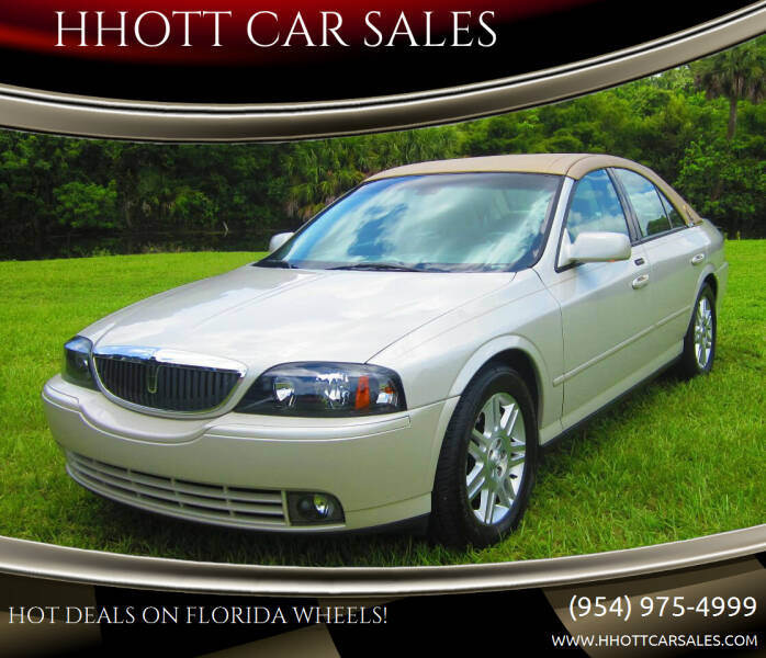 2005 Lincoln LS for sale at HHOTT CAR SALES in Deerfield Beach FL