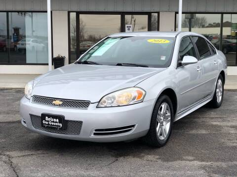 2013 Chevrolet Impala for sale at Nelson Car Country in Bixby OK