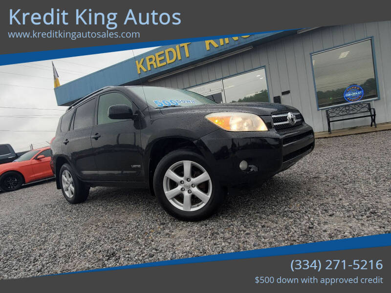 2007 Toyota RAV4 for sale at Kredit King Autos in Montgomery AL