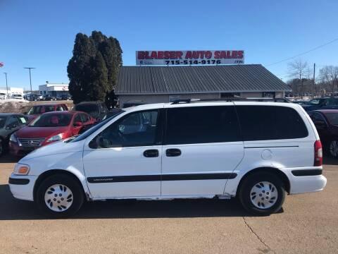 1997 Chevrolet Venture for sale at BLAESER AUTO LLC in Chippewa Falls WI