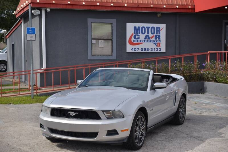 2010 Ford Mustang for sale at Motor Car Concepts II - Kirkman Location in Orlando FL