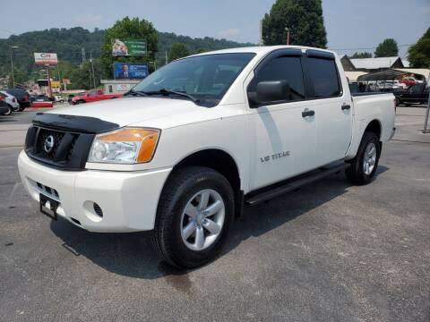 2012 Nissan Titan for sale at MCMANUS AUTO SALES in Knoxville TN