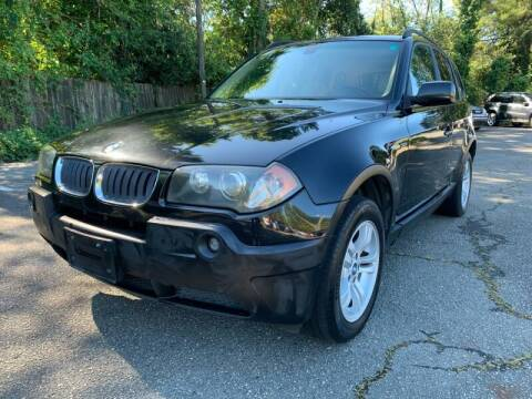 2005 BMW X3 for sale at Triangle Motors Inc in Raleigh NC