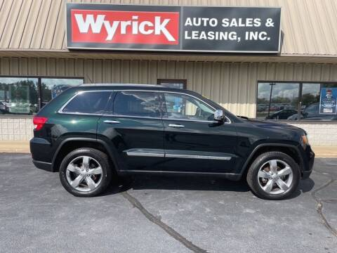 2013 Jeep Grand Cherokee for sale at Wyrick Auto Sales & Leasing-Holland in Holland MI