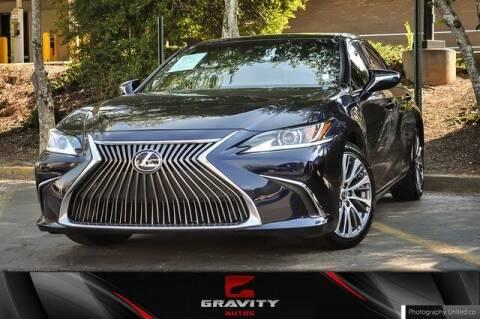 2019 Lexus ES 350 for sale at Gravity Autos Atlanta in Atlanta GA
