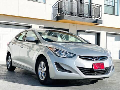 2014 Hyundai Elantra for sale at Avanesyan Motors in Orem UT