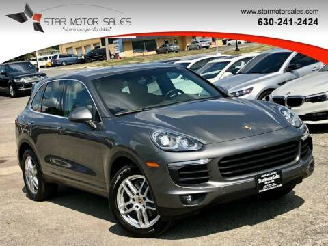 2016 Porsche Cayenne for sale at Star Motor Sales in Downers Grove IL