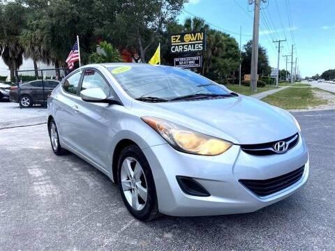 2011 Hyundai Elantra for sale at EZ Own Car Sales of Miami in Miami FL