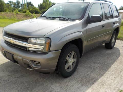 2006 Chevrolet TrailBlazer for sale at Automotive Locator- Auto Sales in Groveport OH