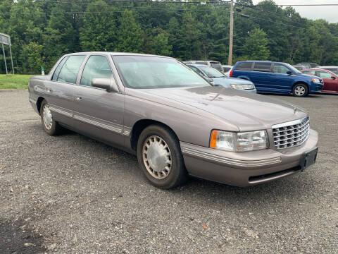 1998 Cadillac DeVille for sale at George Strus Motors Inc. in Newfoundland NJ